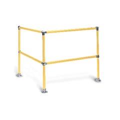 4' x 4' Corner (2-Rail)