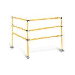 4' x 4' Corner (3-Rail)