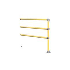 4' x 4' Corner Extension (3-Rail)