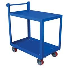 Steel Service Cart Two 28 X 48 Shelves
