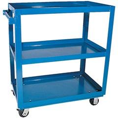 Steel Service Cart Three 28 X 48 Shelves