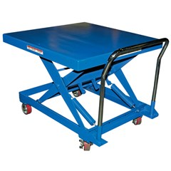 Portable Auto-Leveling Lift Table - 500 lbs. Capacity - 42 in L x 42 in W
