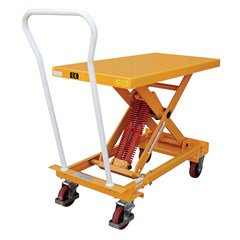Portable Auto-Leveling Lift Table - 500 lbs. Capacity - 40 in L x 20 in W