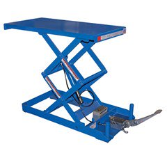 Hydraulic Lift Table - 750 lbs. Capacity - 40 in L x 20 in W