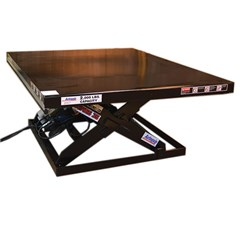 Hydraulic Lift Table - 2500 lbs. Capacity - 64 in L x 48 in W