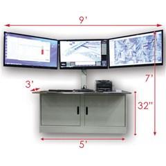 Sit Down HMI Control Station