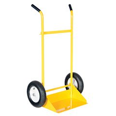 Hand Truck with Pneumatic Wheels - 600 lbs Capacity