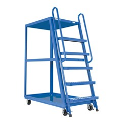 High Frame Cart 28 X 52 Rubber-On-Steel
