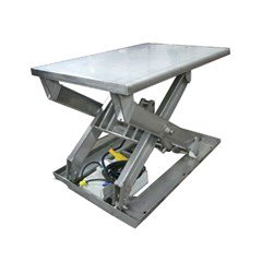 Stainless steel Lift table - 4000 lb capacity - 48