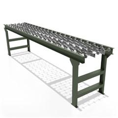 Steel Gravity Skatewheel Conveyor