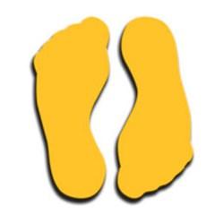 Footprint Symbol, Large