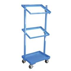 Multi-Tier Cart 3 Shelf 200 Lb Capacity