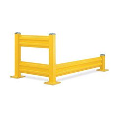Wilgard Lift-Out Guard Rail - 4' Length