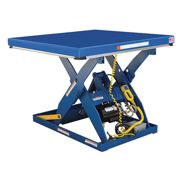 Vestil Electric Hydraulic Scissor Lift Table - 60