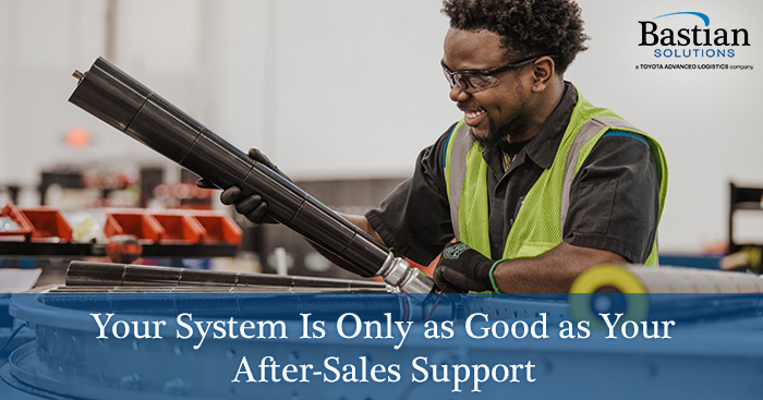 After_sales_support_material_handling_system_conveyor_repairs_maintenance