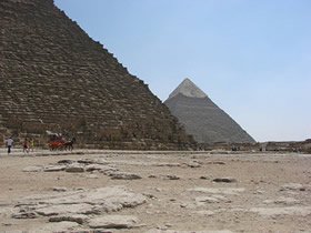 Pyramids: Ancient Use of Conveyors