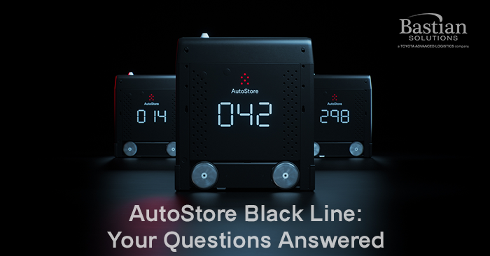 AutoStore Black Line: Your Questions Answered | Bastian