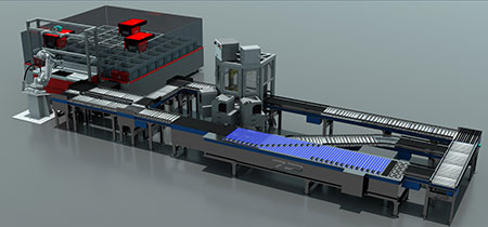 Bastian Solutions Goods-to-Robot Order Fulfillment System at ProMat