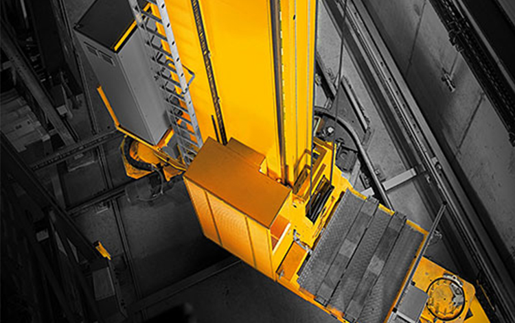 Dambach Lagersysteme Stacker Crane As Rs Bastian