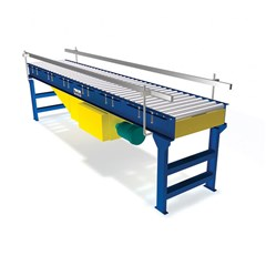 Minimum Pressure Flat Belt Conveyor 1.9