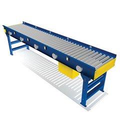 Zero Pressure 24V DC Live Roller Conveyor