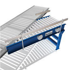 E24 Live Roller Straight Spur Conveyor 24V DC