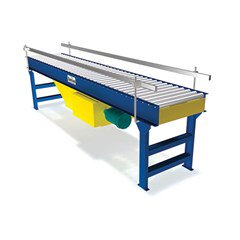 Flat-Belt Driven Live Roller Conveyor