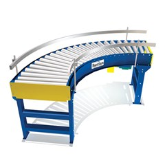 Live Roller Curve Conveyor
