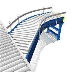 Live Roller Spur Conveyor
