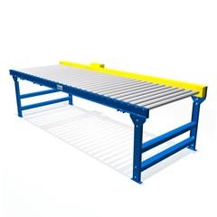 Pallet Handling Chain Driven Live Roller Conveyor 1.99