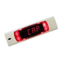 Light Directed Display  - Low Profile, Red Lgt, 4 Digit, 150 mm L