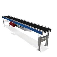 Belt Over Roller Conveyor AC Motor Driven