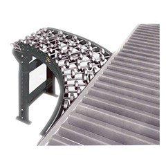 Steel Gravity Skatewheel Spur Conveyor