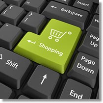 Shopping Cart E-Commerce Button