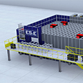 Eletrical_supply_and_equipment_mini_autostore_warehouse_rendering