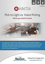 Exacta: Pick to Light vs. Voice Picking