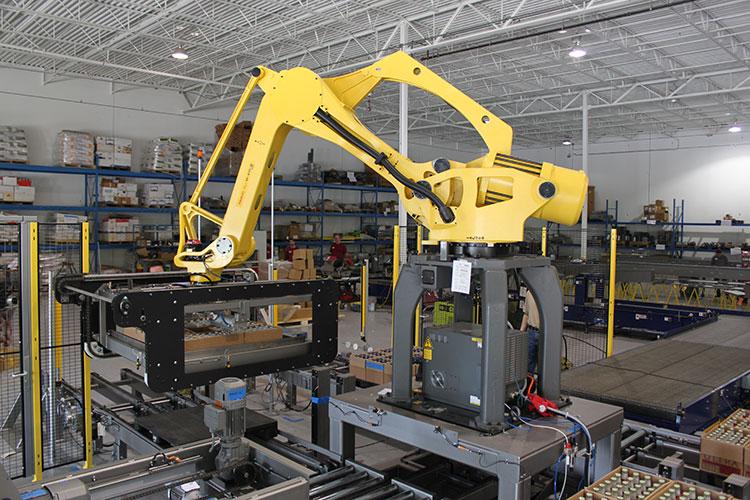 Robotic Depalletizer Industrial Robotics Bastian Solutions