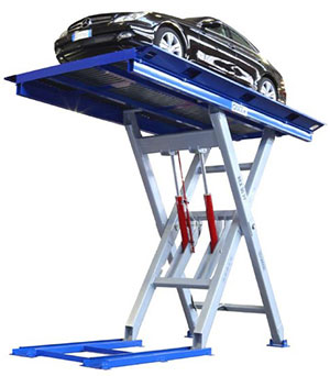 High-capacity scissor lift