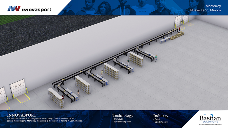 Innovasport_mexico_ecommerce_distribution_center_conveyor_rendering