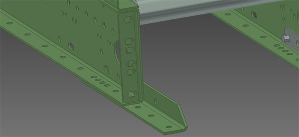 Conveyor joint support