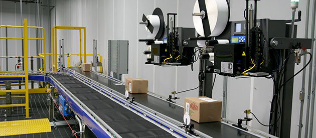 Label print and apply systems