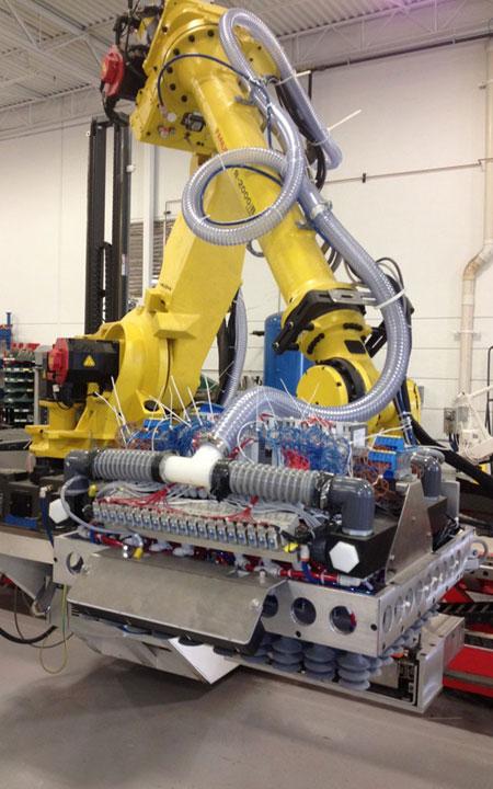 Robotic Mixed Load Palletizer Industrial Robotics