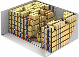 benefits of mobile pallet racking
