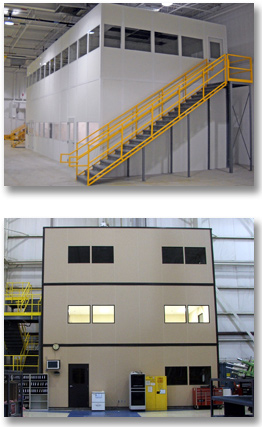 Modular In-plant Offices and Enclosures