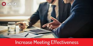 Increase Meeting Effectiveness