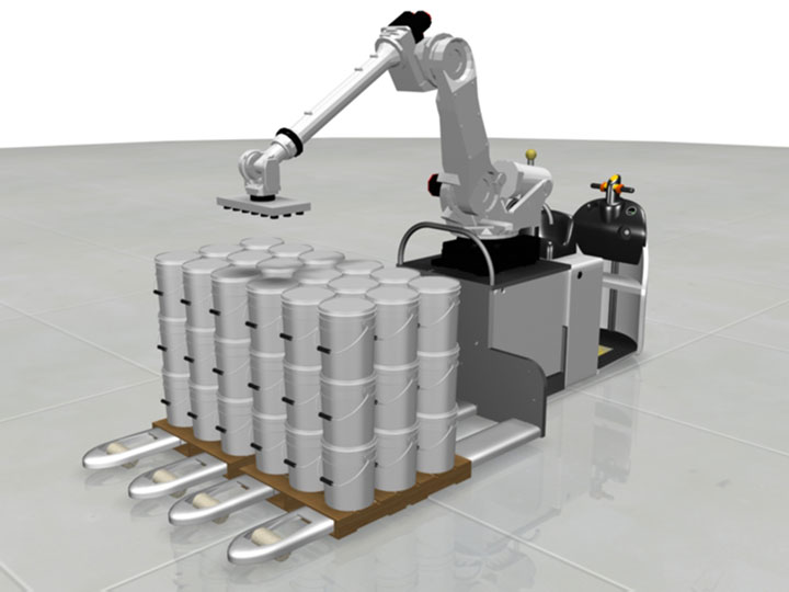 Order Picking Robotic Agv Mobile Robotics Industrial