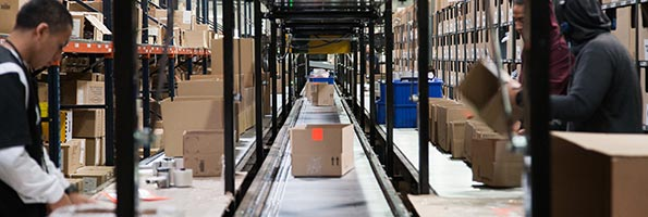 Order fulfillment automation system at Monoprice