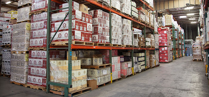 Safety hazards when storing pallets