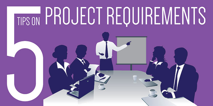 Project requirements graphic