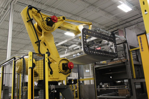 Robotic Palletizer with Layer Former